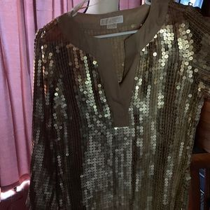 Classic sequined Top